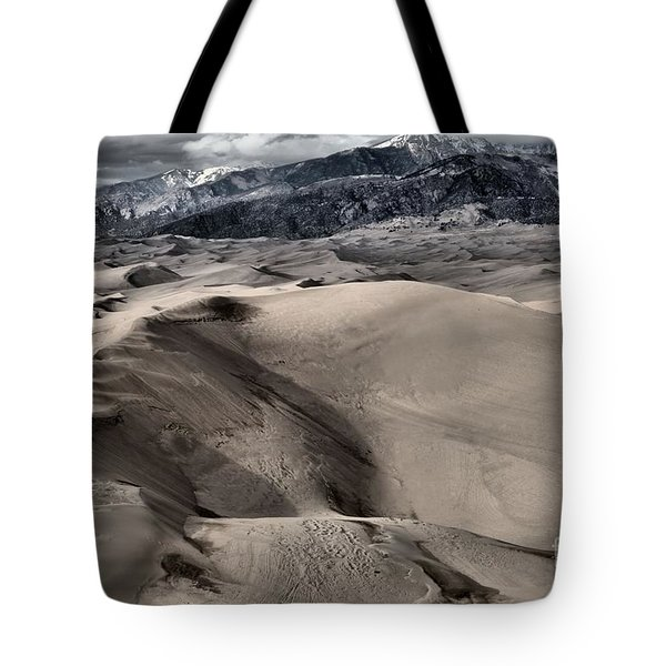 Evening At The Dunes Tote Bag by Adam Jewell