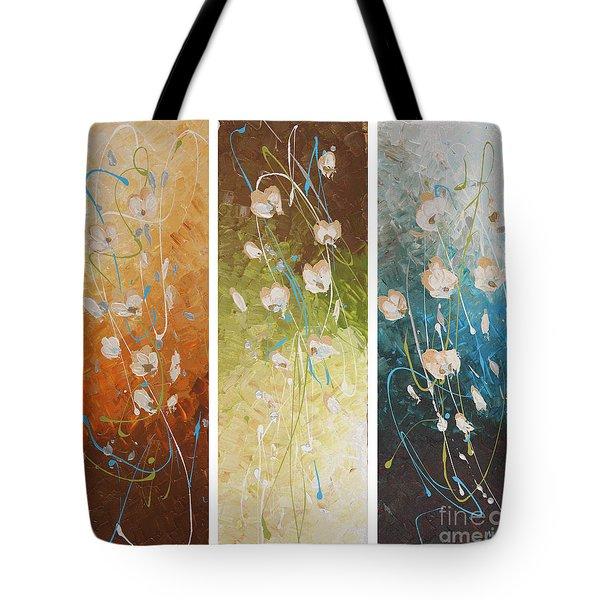 Evening Blossom Tote Bag