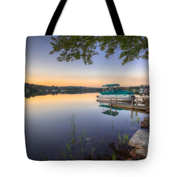 Evening Calm Tote Bag by Evelina Kremsdorf