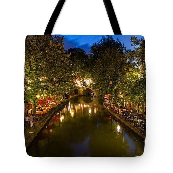 Evening Canal Dinner Tote Bag