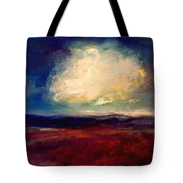 Evening Cloud Tote Bag