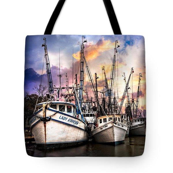 Evening Colors Tote Bag by Debra and Dave Vanderlaan