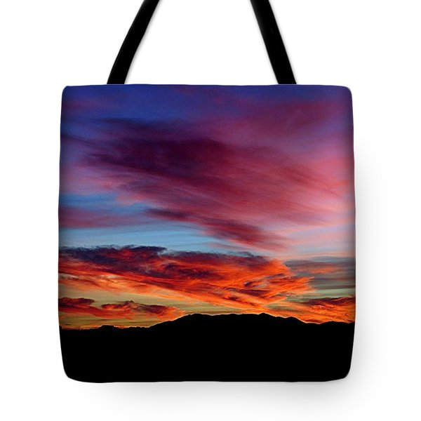 Evening Desert Skies Tote Bag by Mistys DesertSerenity
