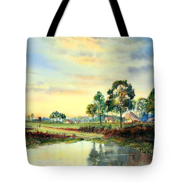 Evening Falls Tote Bag