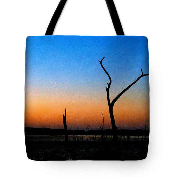 Evening Glow Tote Bag