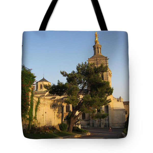 Evening Glow Tote Bag by Pema Hou