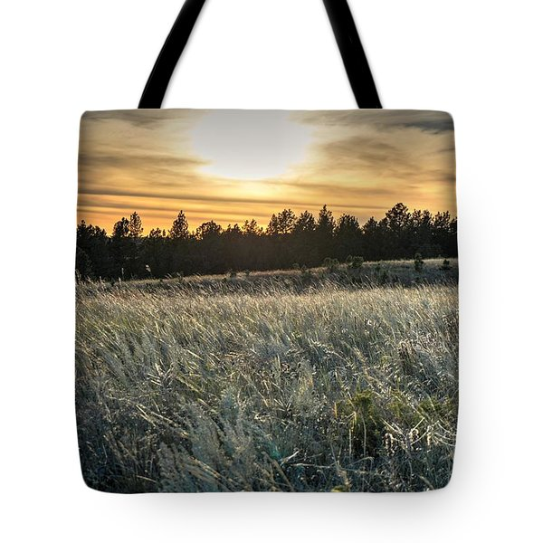 Evening Grasses In The Black Hills Tote Bag