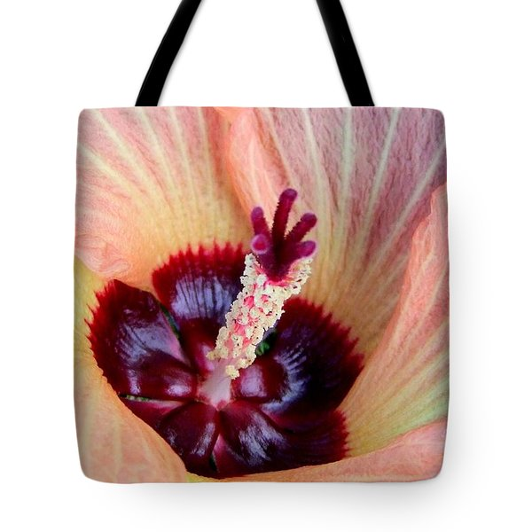 Evening Hau Blossom Tote Bag by Mary Deal