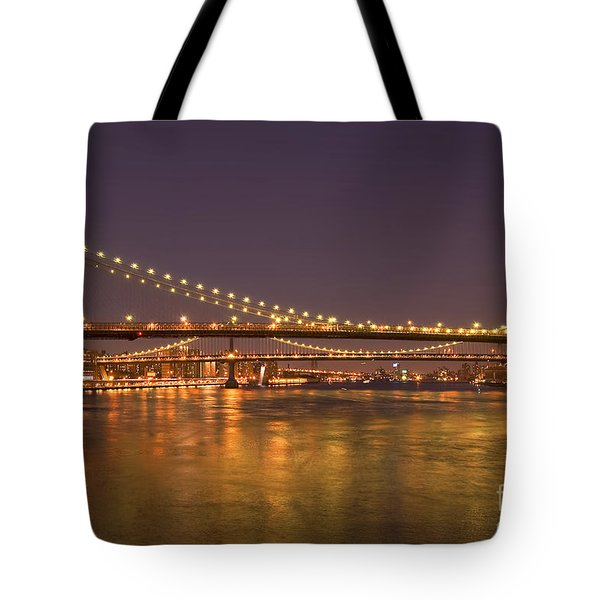 Evening II New York City Usa Tote Bag by Sabine Jacobs