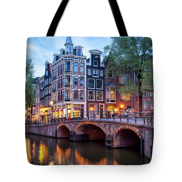 Evening In Amsterdam Tote Bag