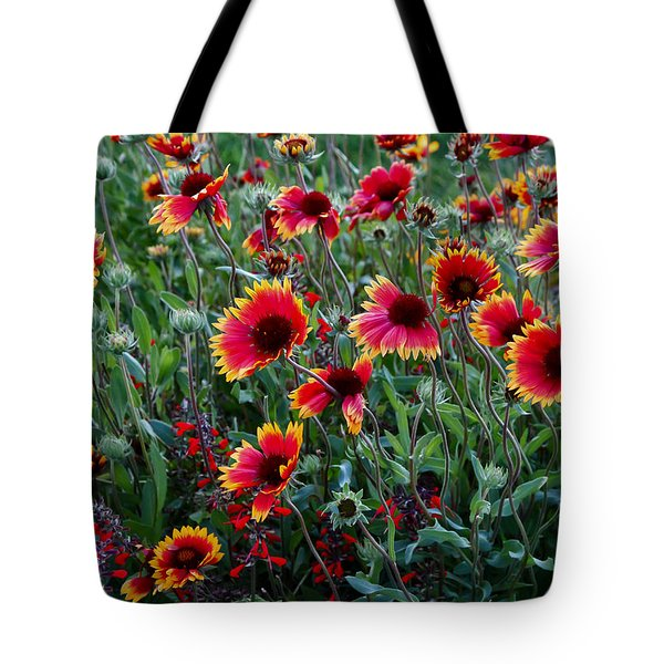 Evening In Bloom Tote Bag