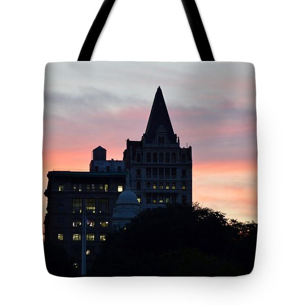 Evening In New York Tote Bag by Sonali Gangane