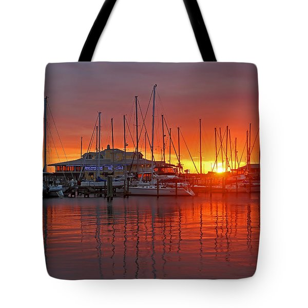 Evening Light Tote Bag by HH Photography of Florida
