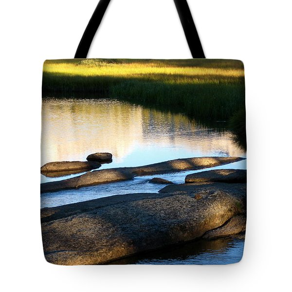 Contemplating Sunset Tote Bag