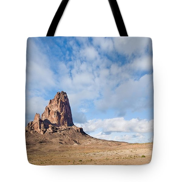 Evening Light On Agathla Peak Tote Bag