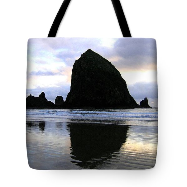 Evening Luster Tote Bag