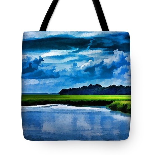 Evening On The Marsh Tote Bag