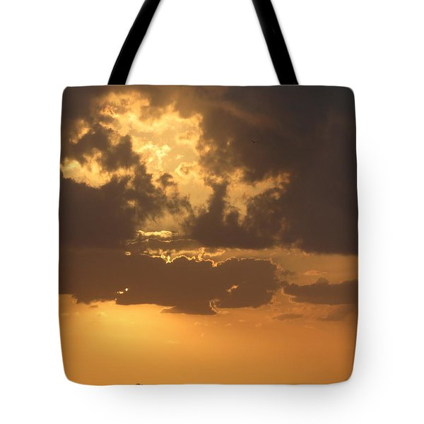 Tote Bag featuring the photograph Evening Over Lake George by Fortunate Findings Shirley Dickerson