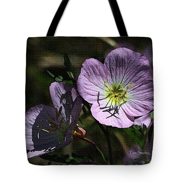 Evening Primrose Tote Bag by Tom Janca