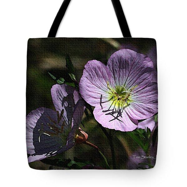 Evening Primrose Tote Bag