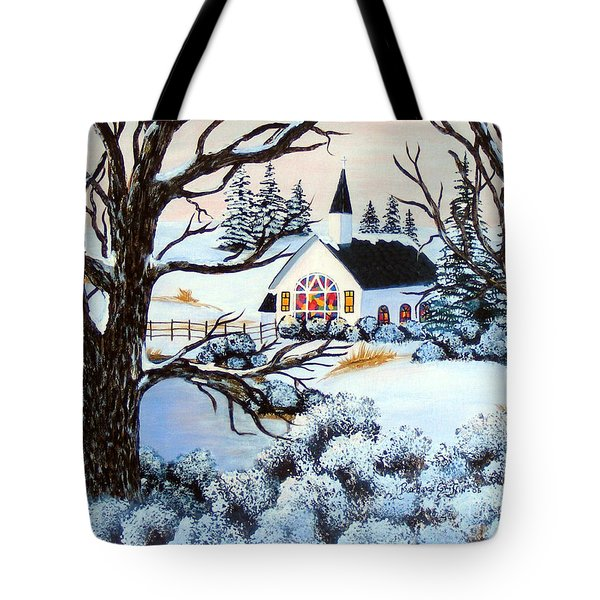 Evening Services Tote Bag by Barbara Griffin