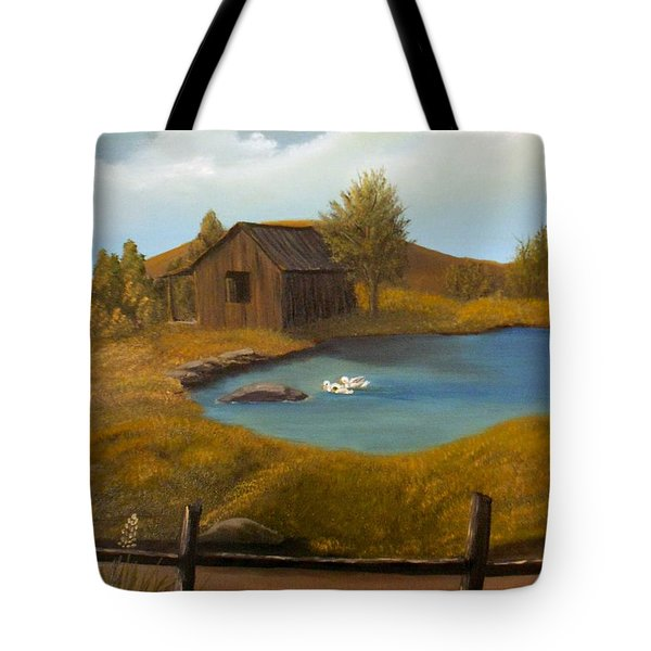 Evening Solitude Tote Bag by Sheri Keith