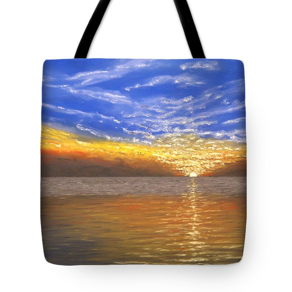 Evening Splash Tote Bag