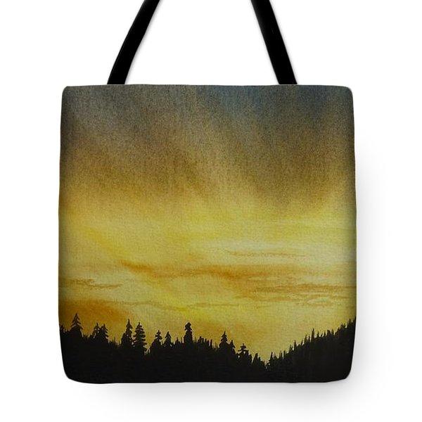 Evening Splendour Tote Bag