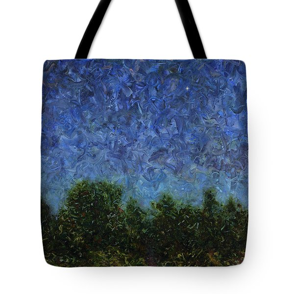 Evening Star - Square Tote Bag