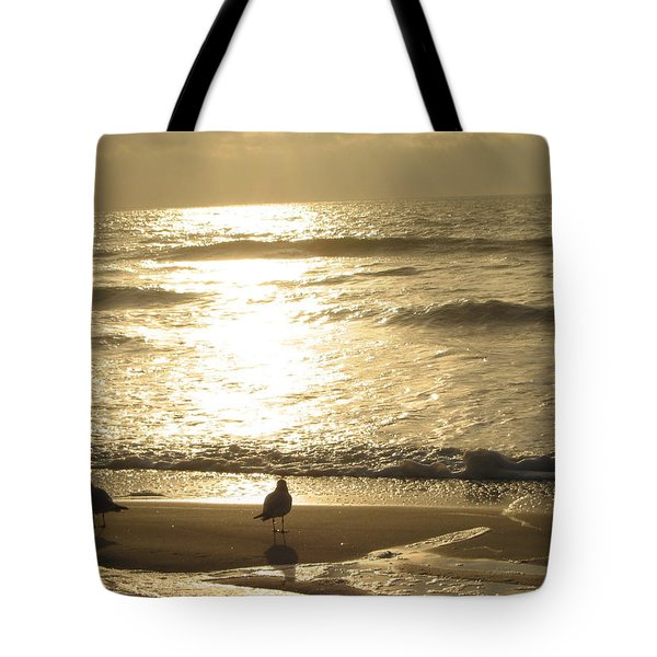 Tote Bag featuring the photograph Evening Stroll by Judith Morris
