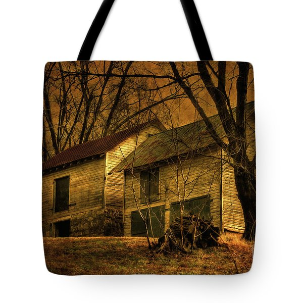 Evening Twilight Fades Away Tote Bag by Lois Bryan