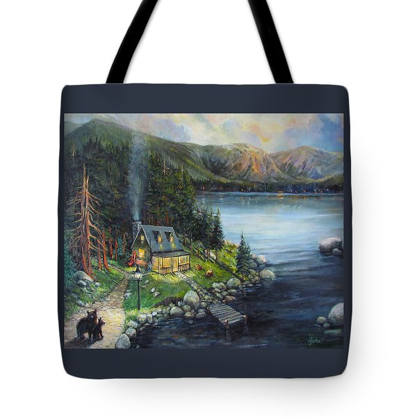 Evening Visitors Tote Bag