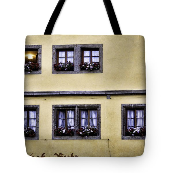 Evening Windows Tote Bag by Joanna Madloch
