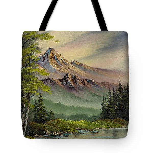 Evenings Peace Tote Bag by C Steele