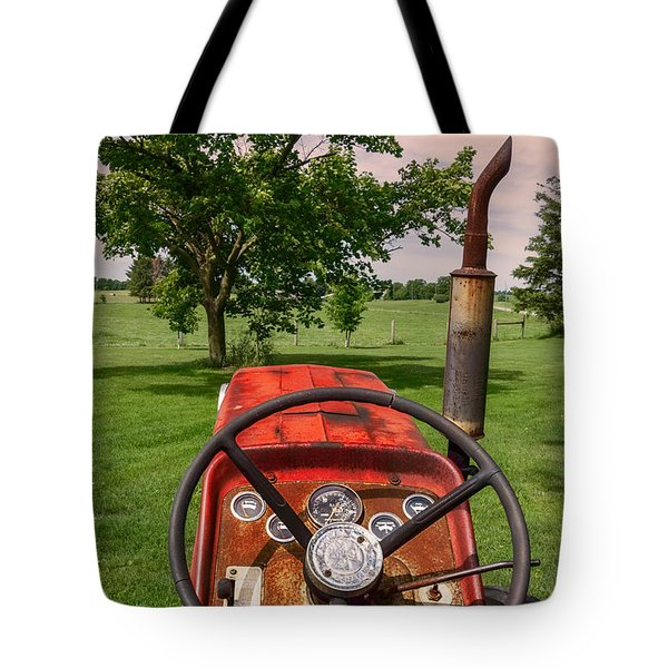Ever Drive A Tractor Tote Bag