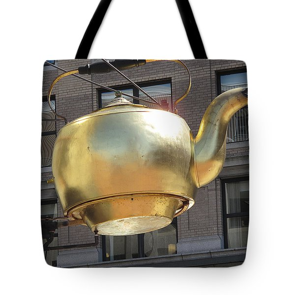 Ever Steaming Kettle Tote Bag