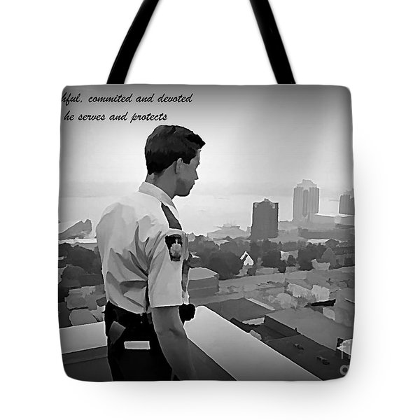 Ever Watchful Tote Bag by John Malone