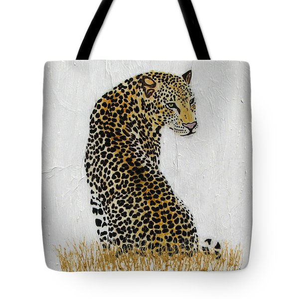 Tote Bag featuring the painting Ever Watchful by Stephanie Grant