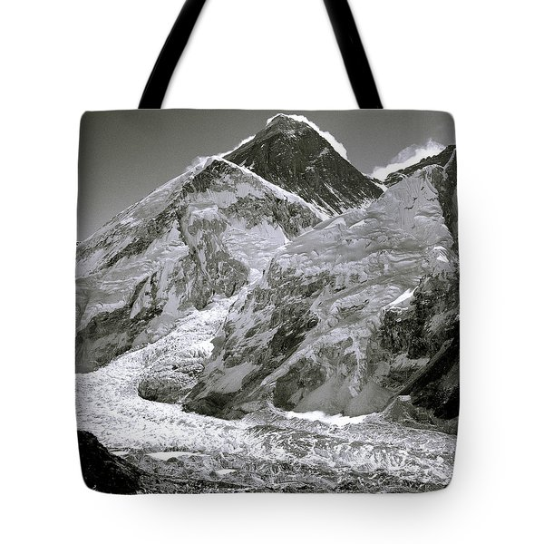 Everest Sunrise Tote Bag by Shaun Higson