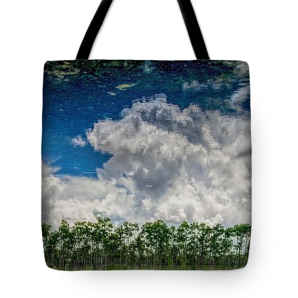 Reflected Everglades 0203 Tote Bag