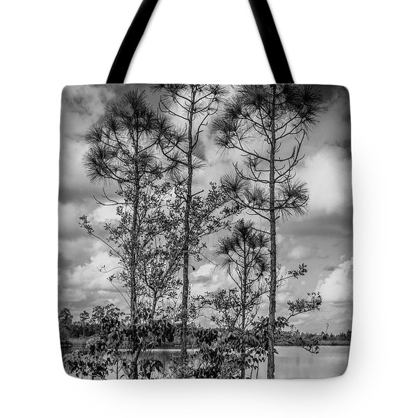 Everglades 0336bw Tote Bag
