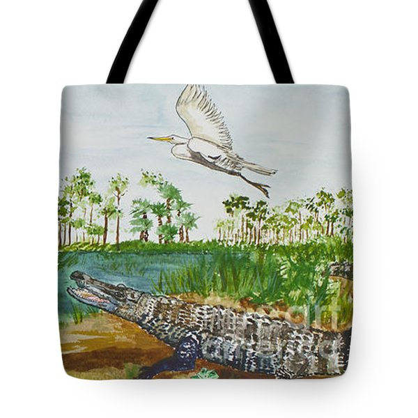 Everglades Critters Tote Bag