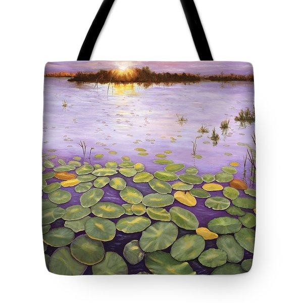 Everglades Evening Tote Bag