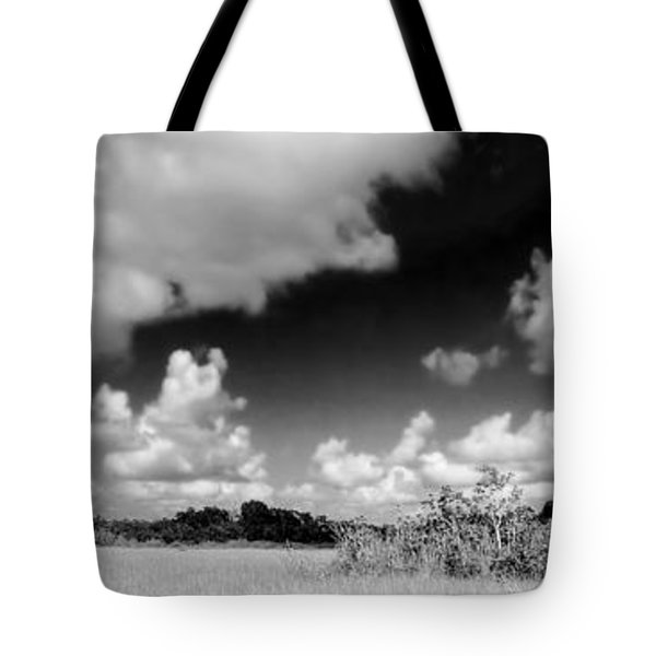 Everglades Panorama Tote Bag by Rudy Umans