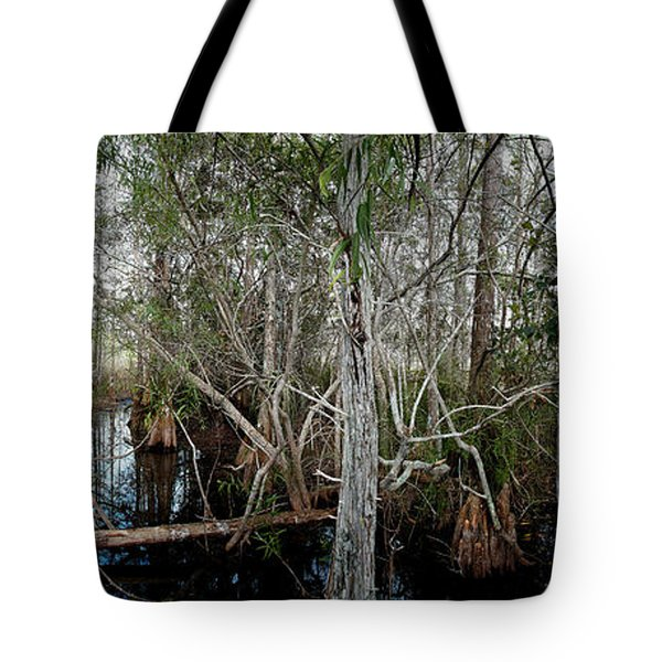 Everglades Swamp-1 Tote Bag