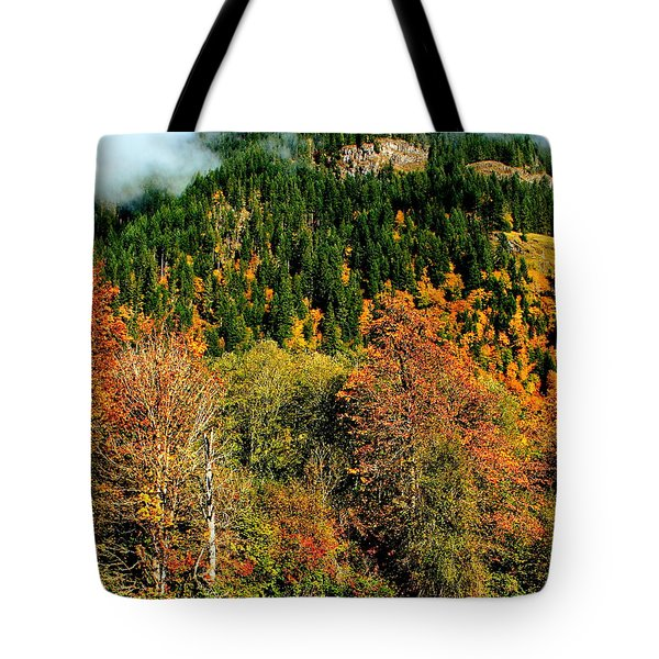 Evergreen Color Tote Bag by Benjamin Yeager