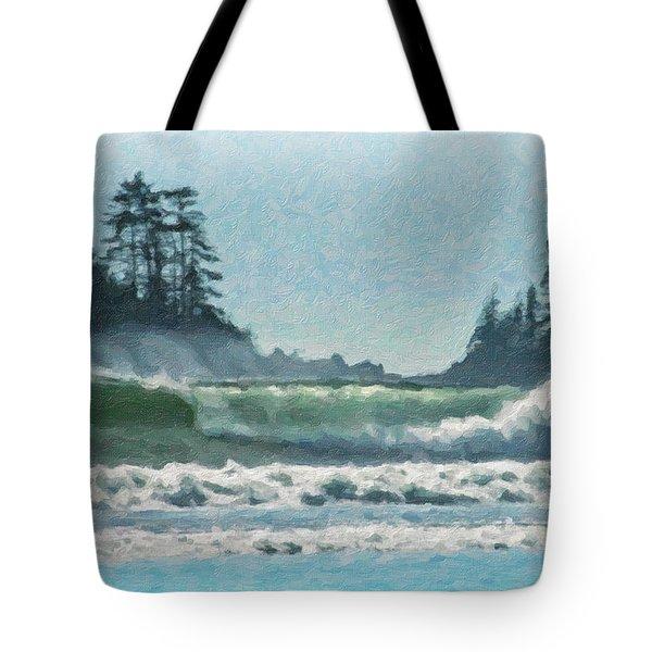 Everlasting Surf Tote Bag by Richard Farrington
