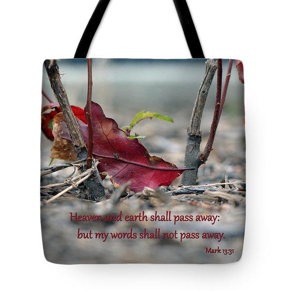 Everlasting Words Tote Bag