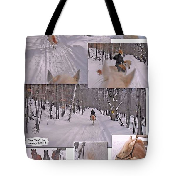 Every Day Is The First Day Of The Year To Me Tote Bag by Patricia Keller