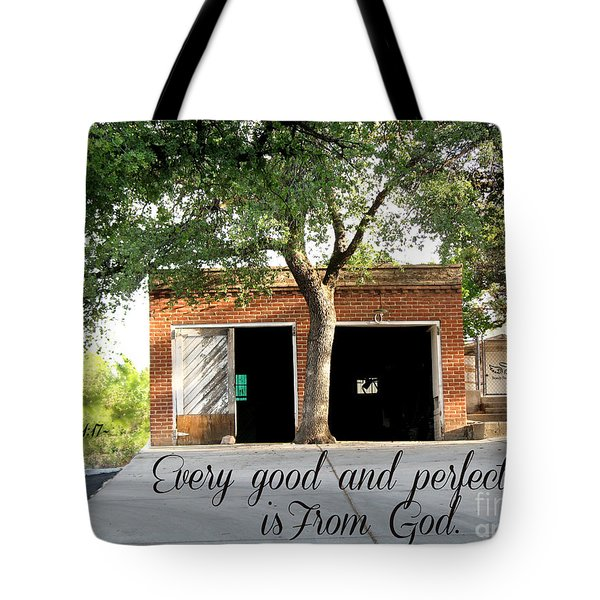 Every Good And Perfect Gift Tote Bag